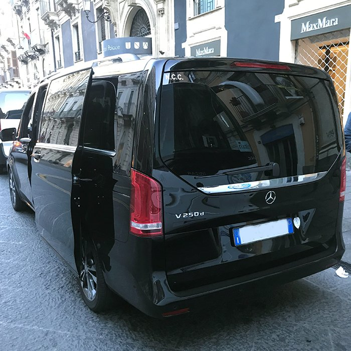 taxi catania mercedes distefano salvatore